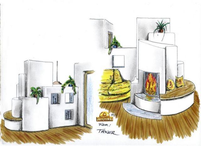 individuelle planung f r ihren kaminofen biofire. Black Bedroom Furniture Sets. Home Design Ideas